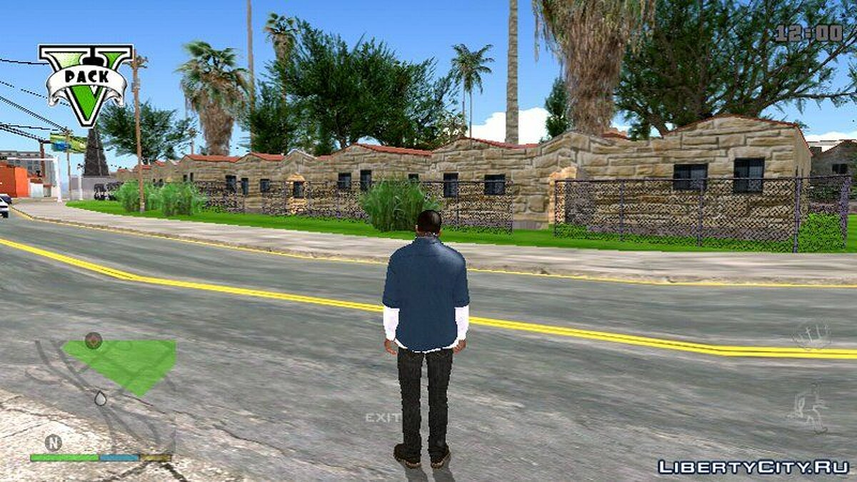 HD GTA SA The Road Texture For Mobile for GTA San Andreas (iOS, Android) - Картинка #3
