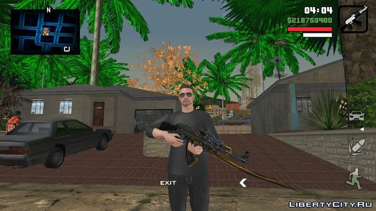 Texture mod Радар из игры Need For Speed World for GTA San Andreas (iOS, Android)