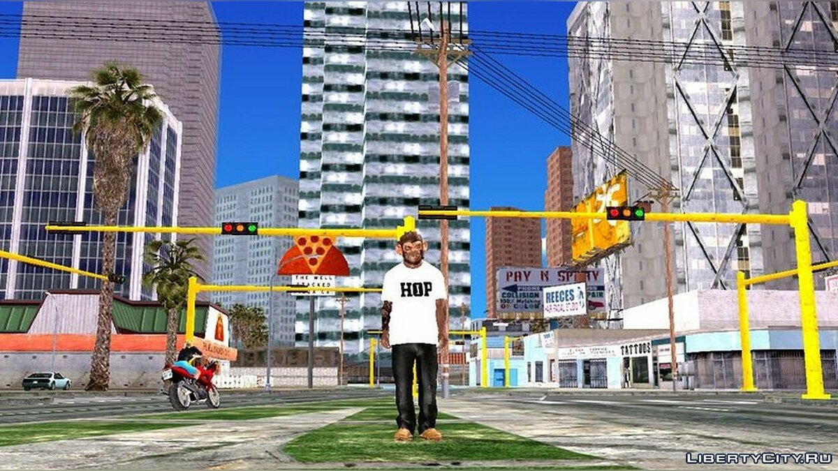 Texture mod Реалистичные светофоры for GTA San Andreas (iOS, Android)