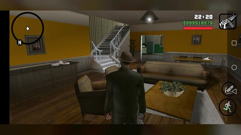Texture mod Karl's new home interior for GTA San Andreas (iOS, Android)