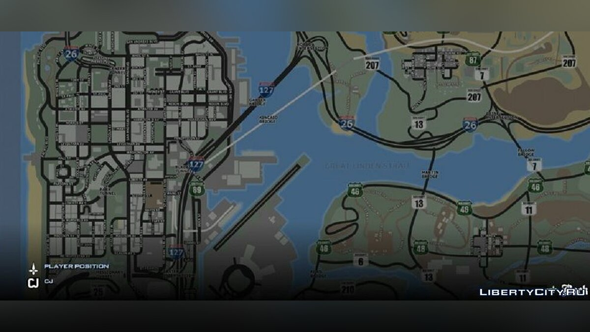 Texture mod Roadmap V3.0 for GTA San Andreas (iOS, Android)