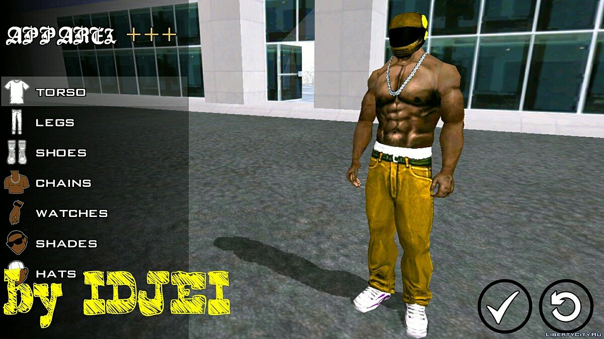 Player texture by IDJEI (1.0) for GTA San Andreas (iOS, Android) - Картинка #4