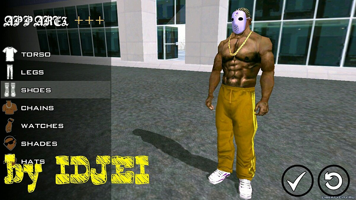 Player texture by IDJEI (1.0) for GTA San Andreas (iOS, Android) - Картинка #5