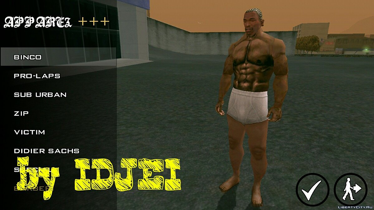 Player texture by IDJEI (1.0) for GTA San Andreas (iOS, Android) - Картинка #6