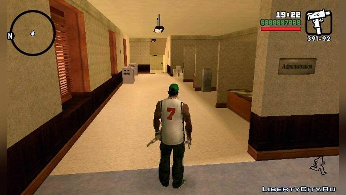 Texture mod Hospital Interior Mod for Android for GTA San Andreas (iOS, Android)