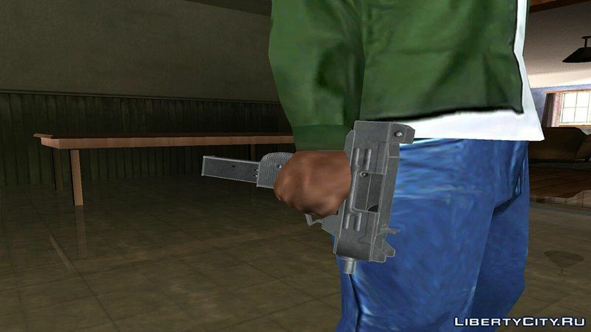 Texture mod HD textures for the original weapon for GTA San Andreas (iOS, Android)