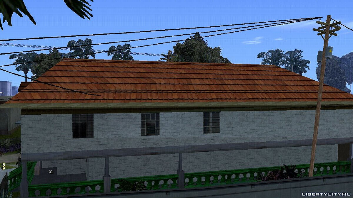 Texture mod New textures for Karl's house for GTA San Andreas (iOS, Android)