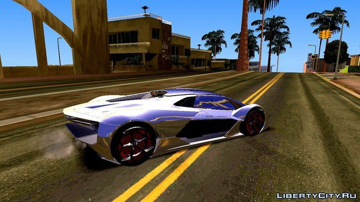 Texture mod Road textures from GTA 5 for GTA San Andreas (iOS, Android)