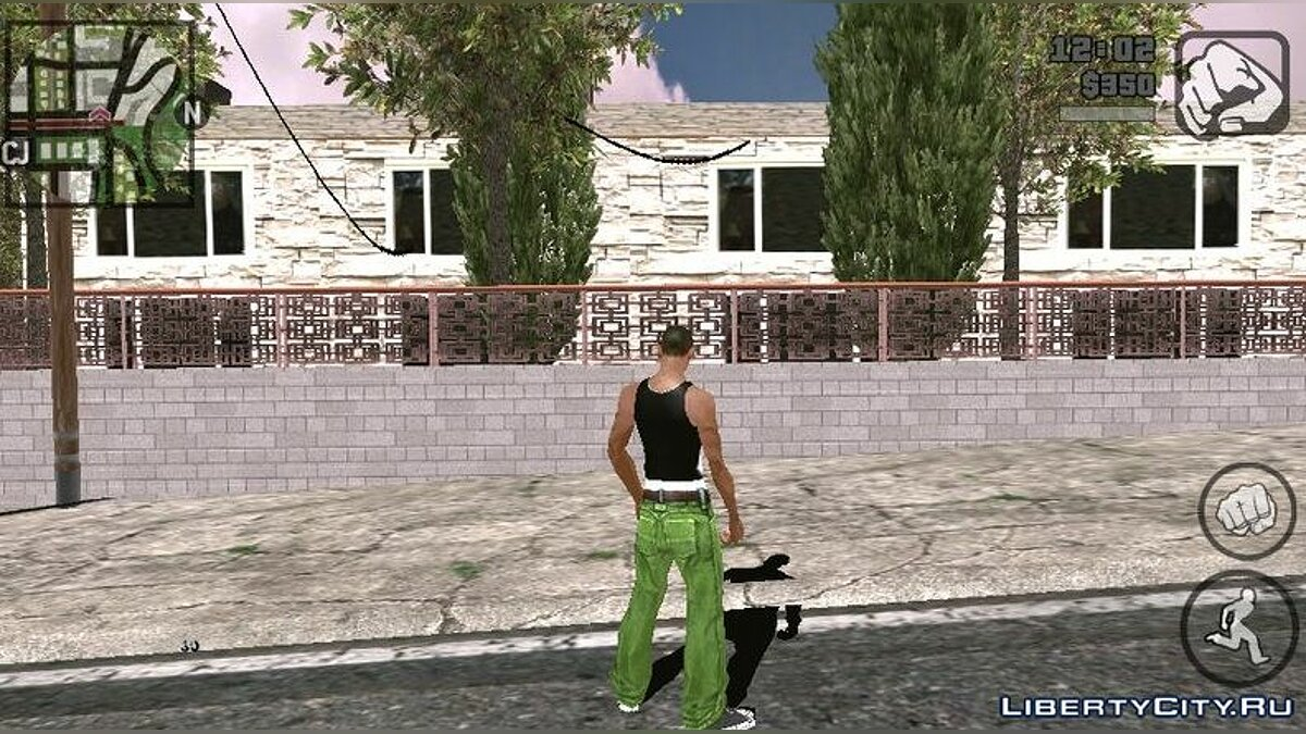 Texture mod Retexture Hotel for GTA San Andreas (iOS, Android)