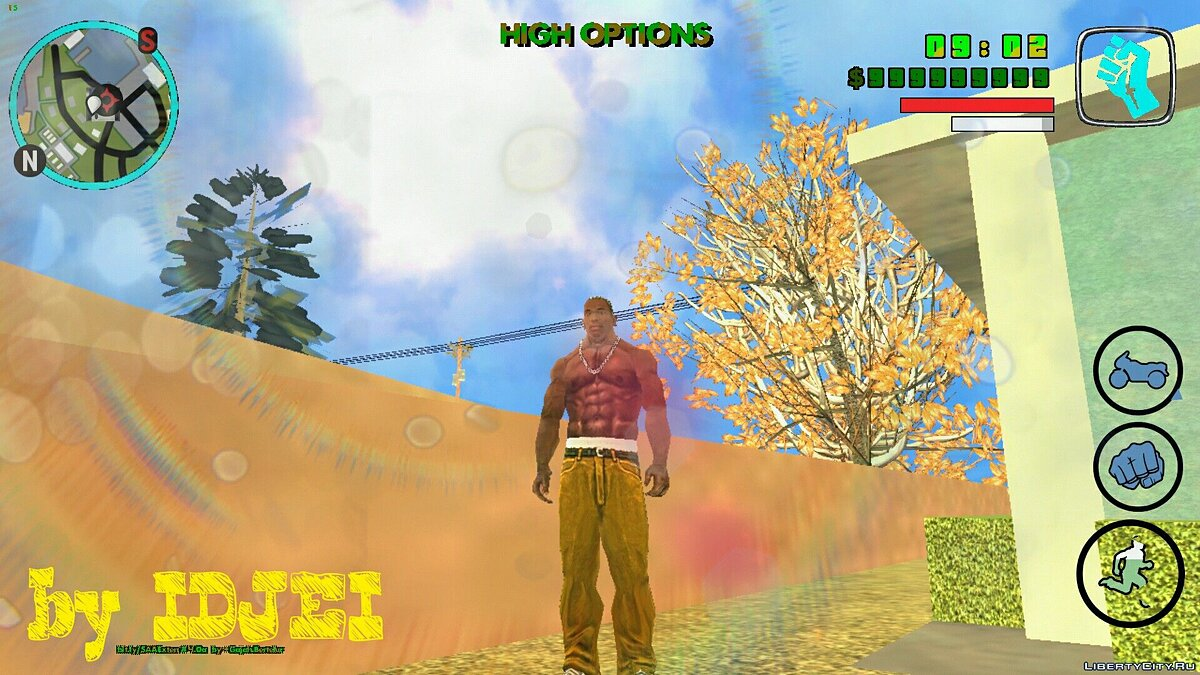 Texture mod The graphical modification is