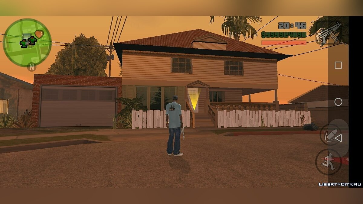 Texture mod Karl's new home for GTA San Andreas (iOS, Android)
