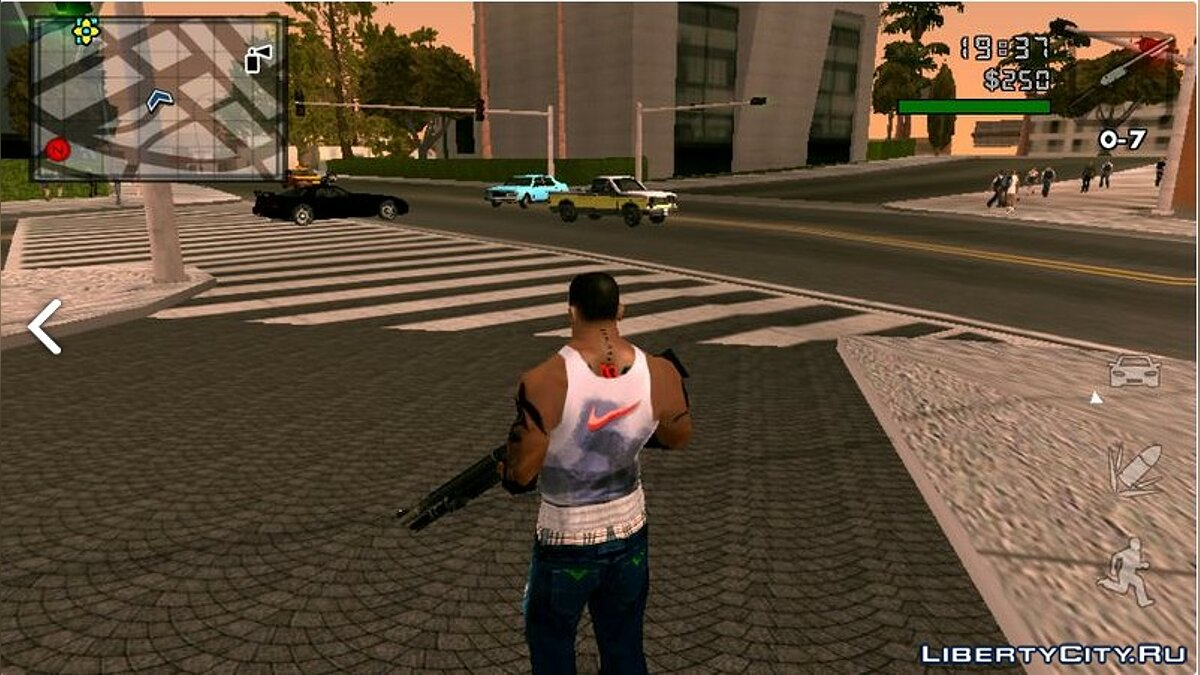 HD road texture for GTA SA (Android) for GTA San Andreas (iOS, Android) - Картинка #2
