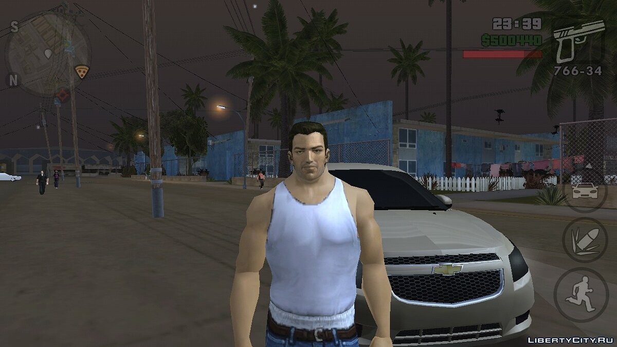 Tommy Vercetti (Vice City) (iOs, Android) for GTA San Andreas (iOS, Android)
