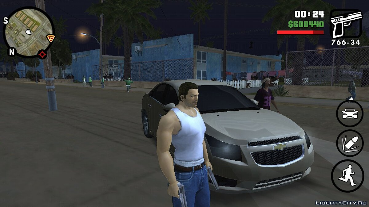 Tommy Vercetti (Vice City) (iOs, Android) for GTA San Andreas (iOS, Android) - screenshot #2