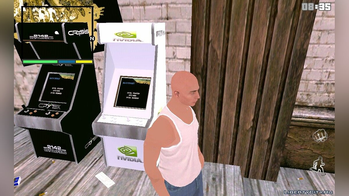 Texture mod New slot machines for GTA San Andreas (iOS, Android)