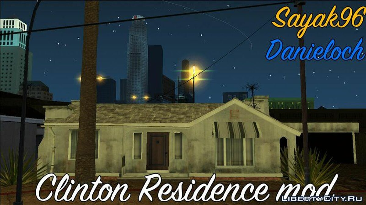 Clinton Residence (GTA V PC Textures) - New textures for the Clinton residence for GTA San Andreas (iOS, Android) - Картинка #4