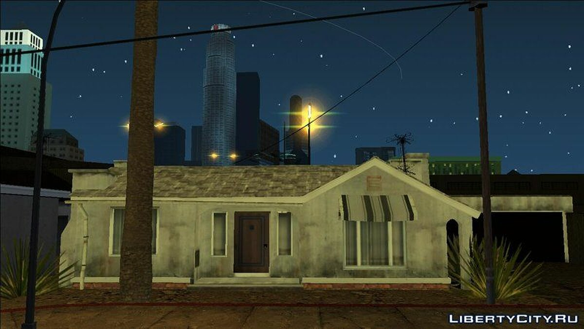 Clinton Residence (GTA V PC Textures) - New textures for the Clinton residence for GTA San Andreas (iOS, Android) - Картинка #1