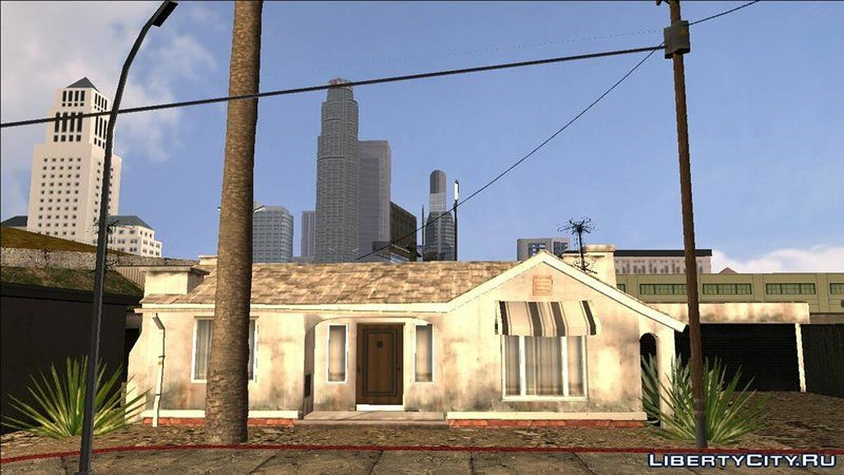 Clinton Residence (GTA V PC Textures) - New textures for the Clinton residence for GTA San Andreas (iOS, Android) - Картинка #3