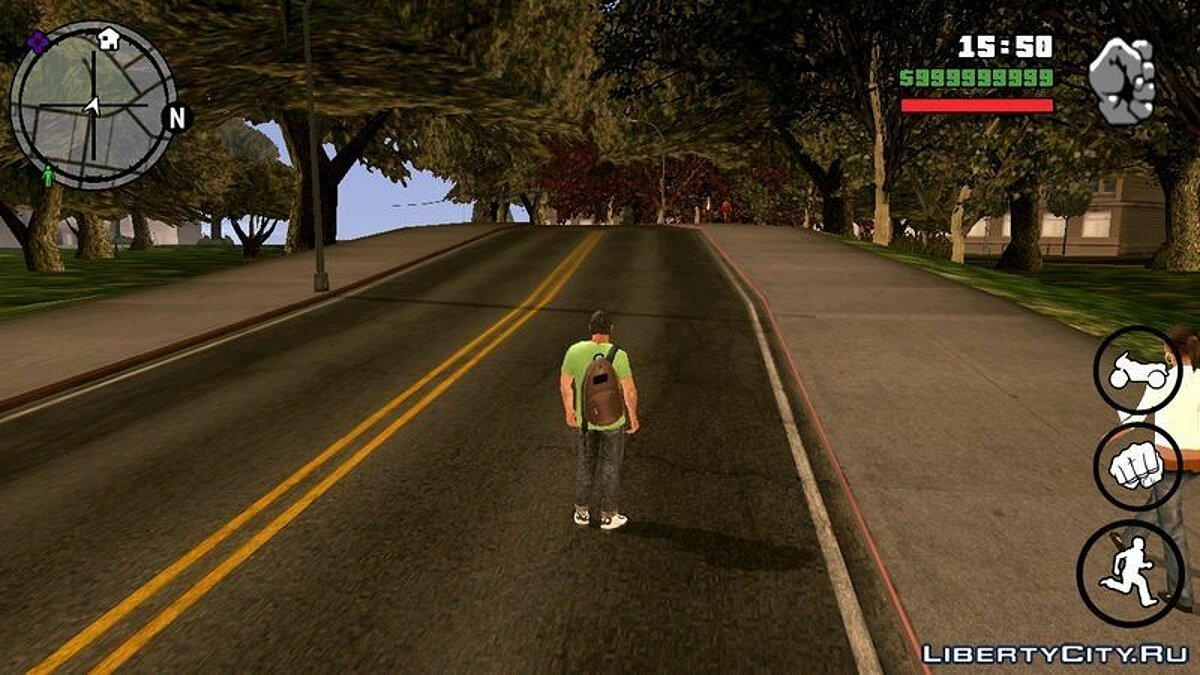 Texture mod GTA V Texture Mod for Android for GTA San Andreas (iOS, Android)
