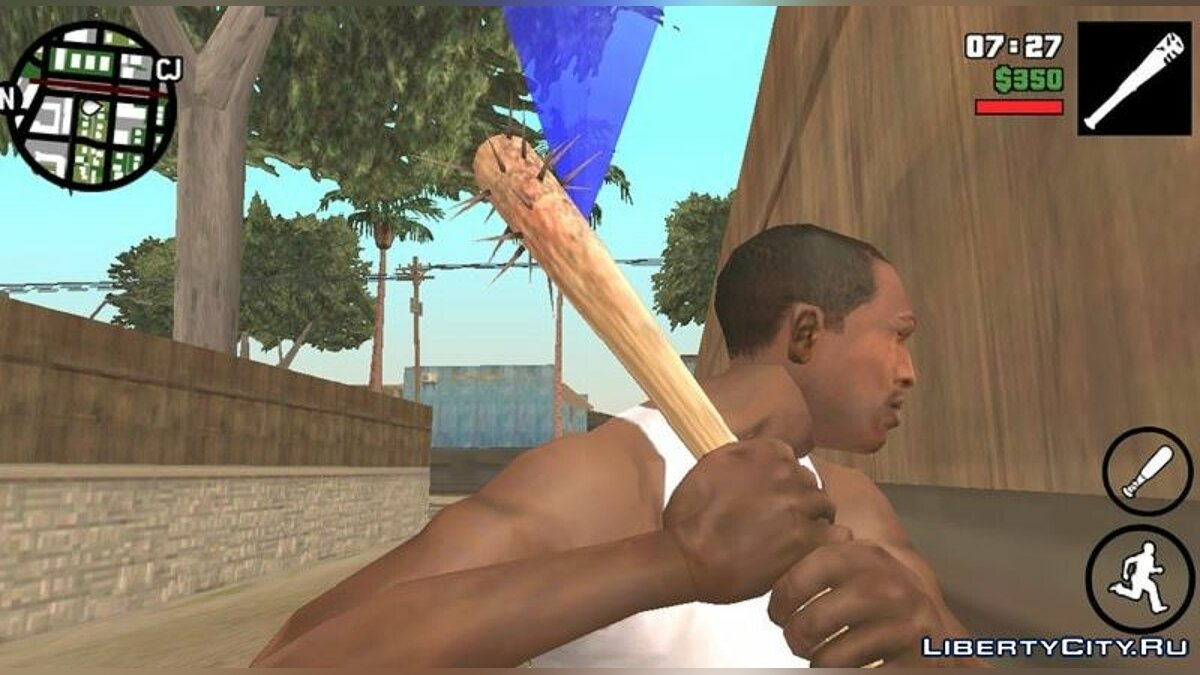 Weapon mod Bit from Manhunt for GTA San Andreas (iOS, Android)
