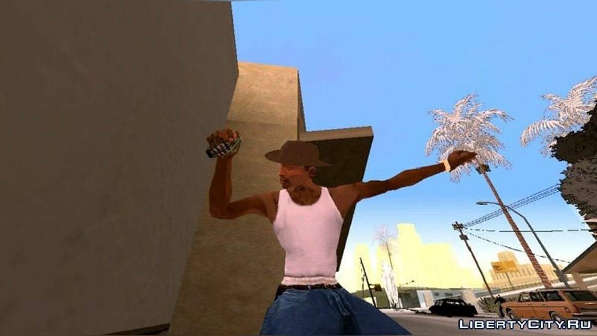 Weapon mod Collection of weapons from Half-Life for GTA San Andreas (iOS, Android)