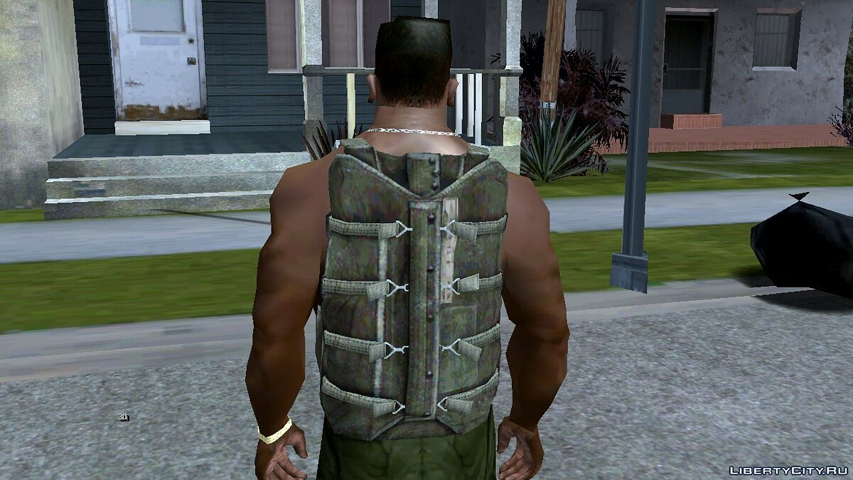 Weapon mod 90's Atmosphere Weapons Pack for GTA San Andreas (iOS, Android)