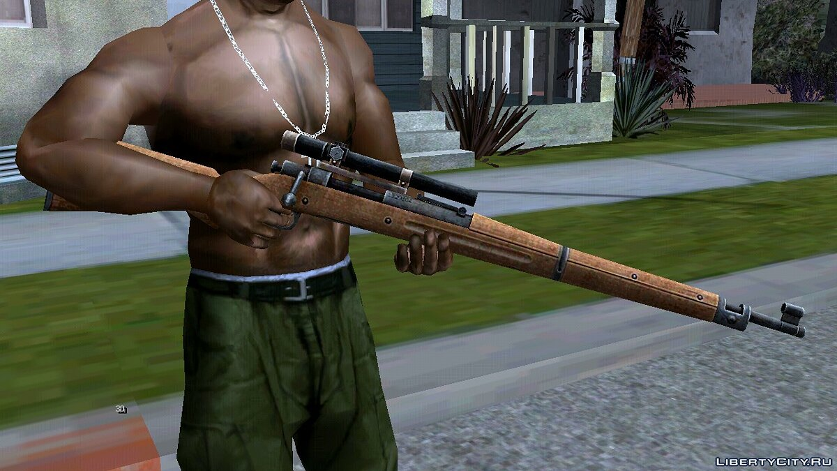 Weapon mod Springfield M1903 Rifles for GTA San Andreas (iOS, Android)