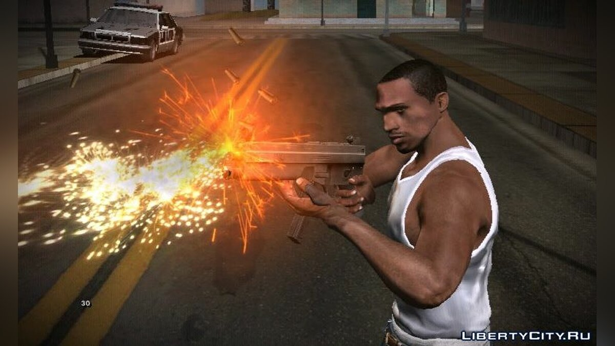 Weapon mod GTA IV Insanity Weapons, Items & Pickups Mixed for GTA San Andreas (iOS, Android)