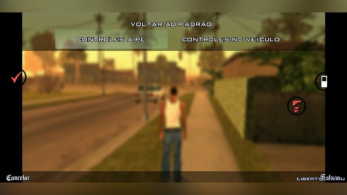 File Transparent Buttons for GTA SA Mobile for GTA San Andreas (iOS, Android)