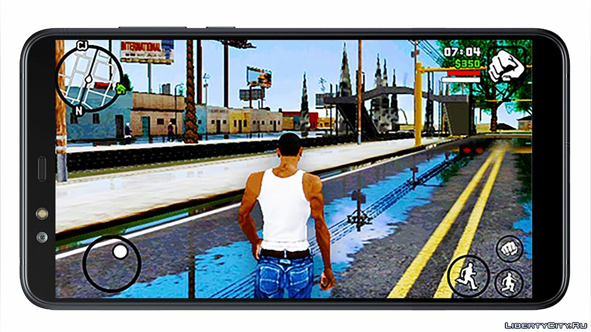 File Video: New graphics in GTA San Andreas on Android: DirectX Mod for GTA San Andreas (iOS, Android)