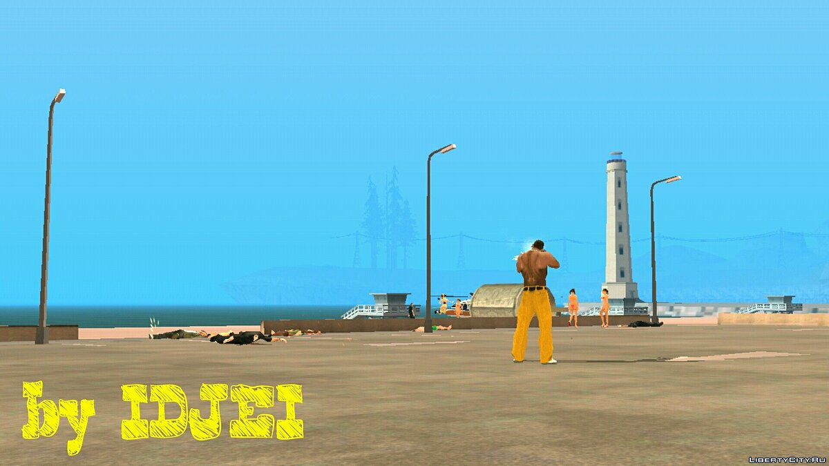File Death from one shot for GTA San Andreas (iOS, Android)