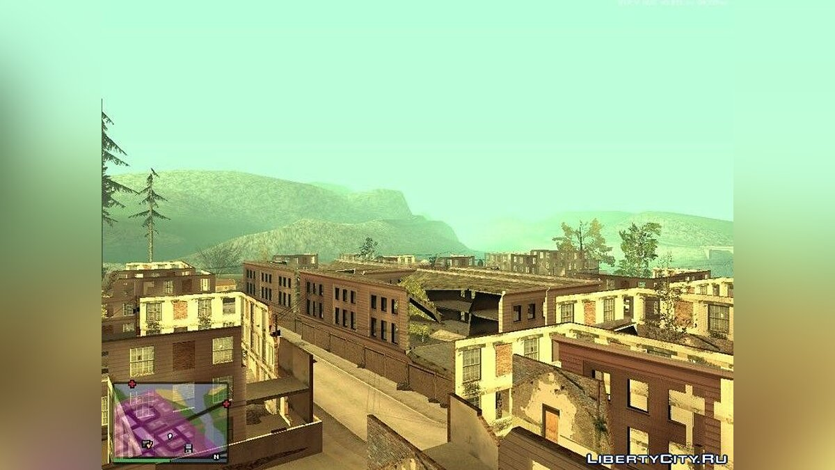 File Ruins in the countryside of Los Santos for GTA San Andreas (iOS, Android)