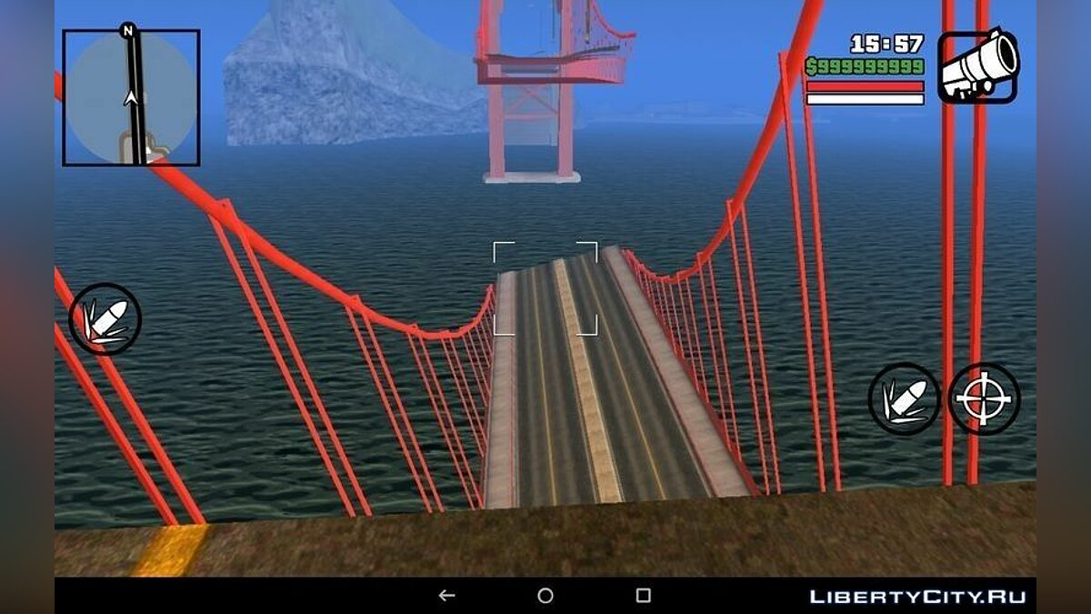 Bridge collapse for GTA San Andreas (iOS, Android) - screenshot #2