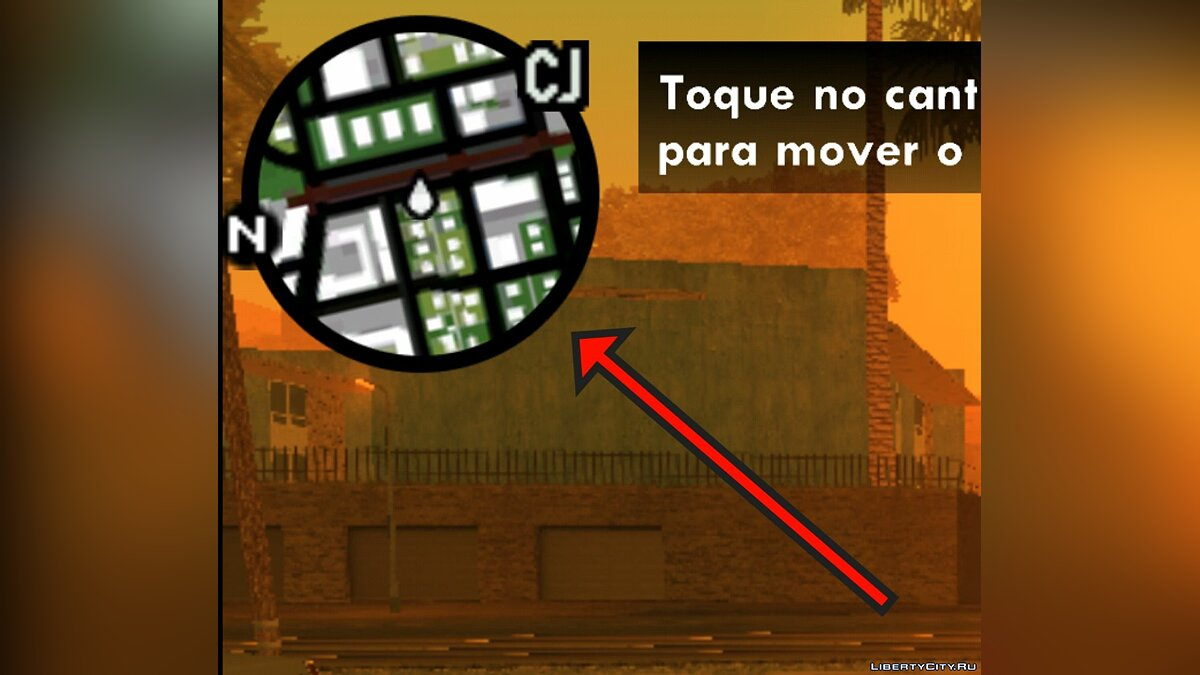 File PS2 Map and Icons for GTA SA Mobile for GTA San Andreas (iOS, Android)