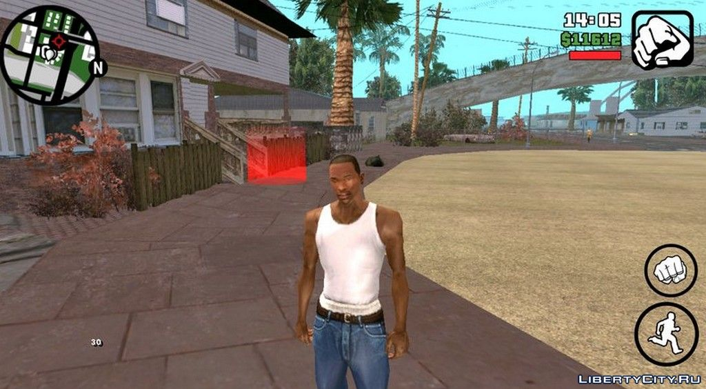 Ultra HD resolution textures for GTA San Andreas (iOS, Android)