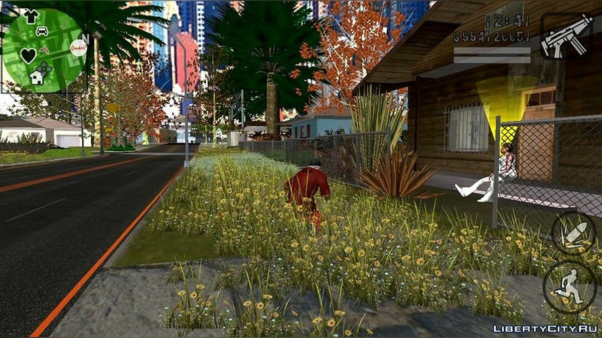 Mod Vegetation increase for GTA San Andreas (iOS, Android)