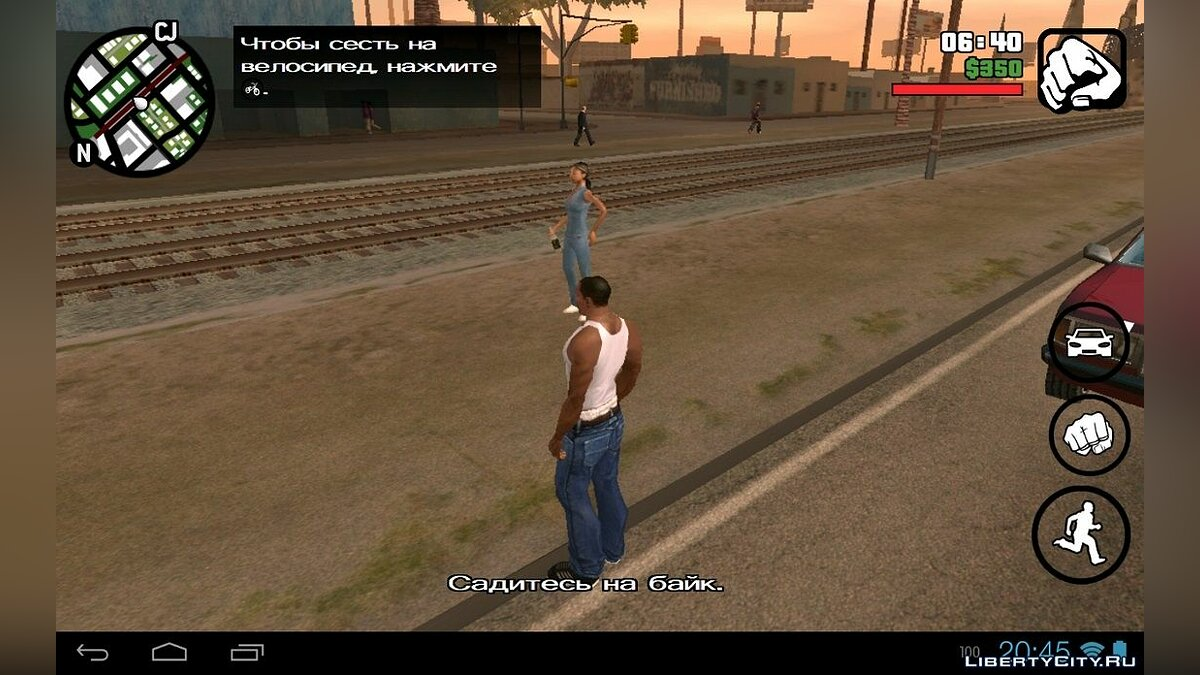 Mod Miscellaneous behavior of people (Android) for GTA San Andreas (iOS, Android)