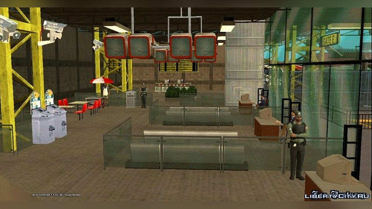 Mod Bus station for GTA San Andreas (iOS, Android)