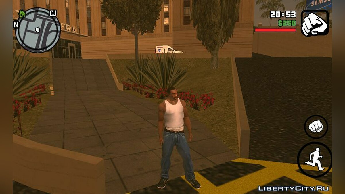 Mod Great animations for GTA San Andreas (iOS, Android)