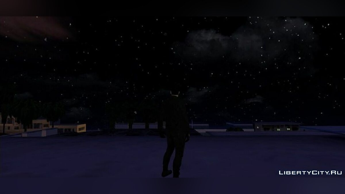 Mod HD skybox in the style of GTA 5 for GTA San Andreas (iOS, Android)