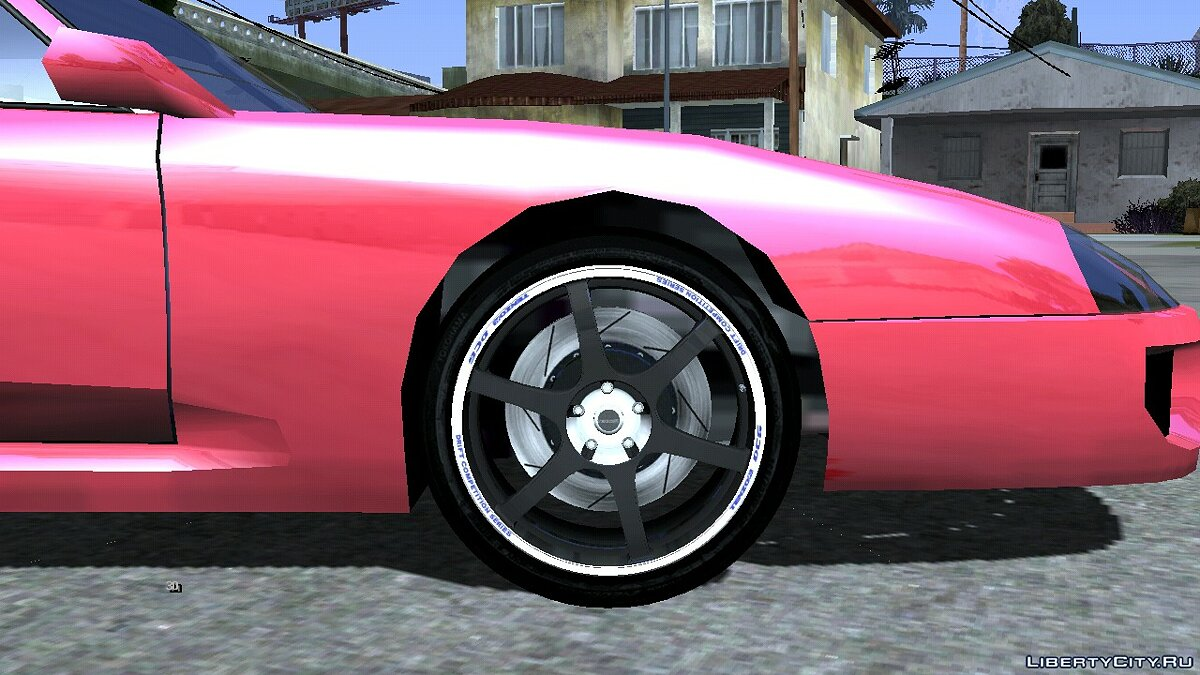 Mod Collection of wheels from Forza Motorsport 3 for GTA San Andreas (iOS, Android)