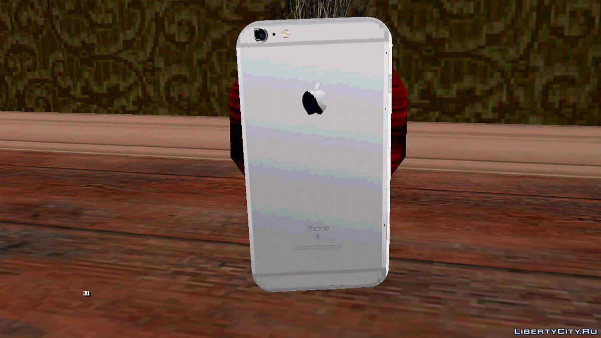 Mod iPhone 6S Space Gray for GTA San Andreas (iOS, Android)