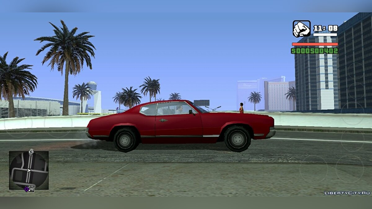 Mod Project In Timesis for Android for GTA San Andreas (iOS, Android)
