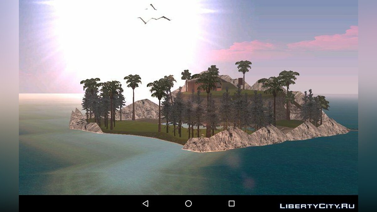 Mod Private (Horror) Island for Android for GTA San Andreas (iOS, Android)