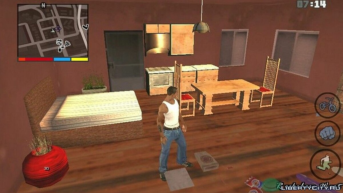 Big Smoke Open House for GTA San Andreas (iOS, Android) - Картинка #3