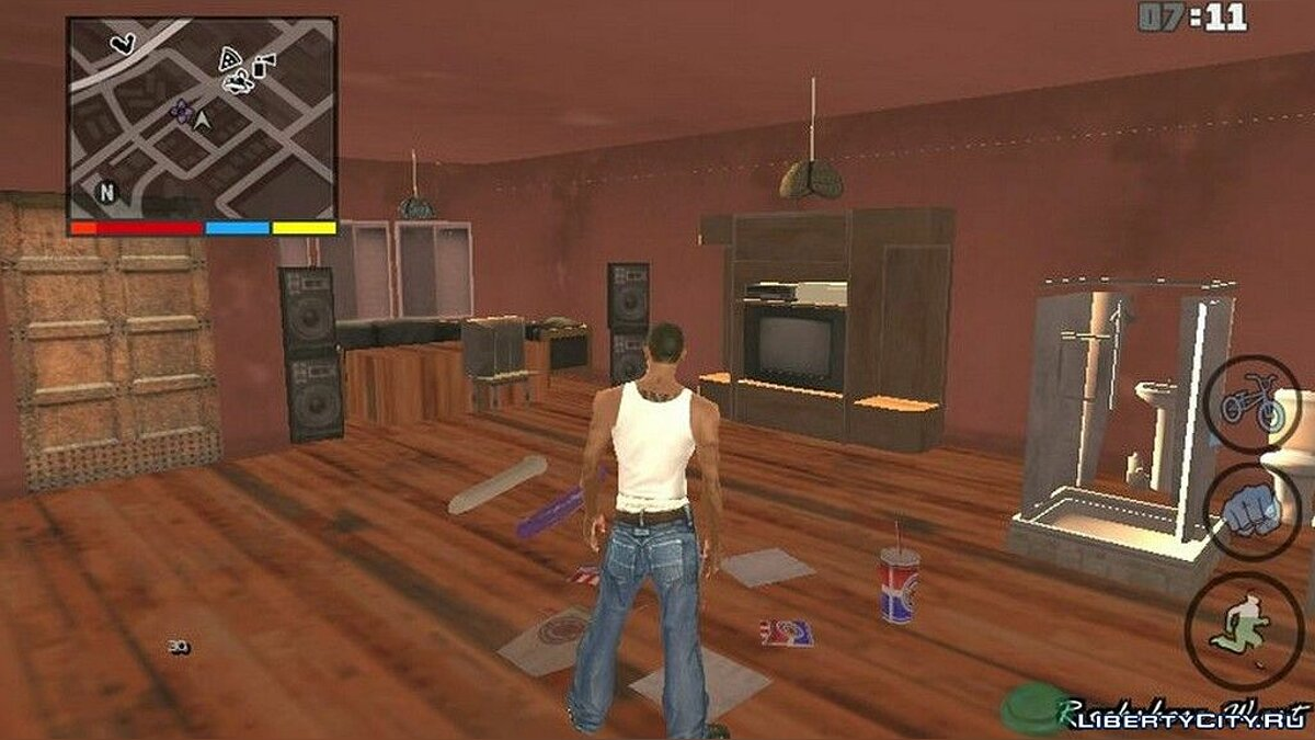 Big Smoke Open House for GTA San Andreas (iOS, Android) - Картинка #2