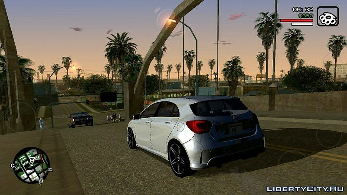 Mod VGSA 2.0 - realistic graphics for GTA San Andreas (iOS, Android)