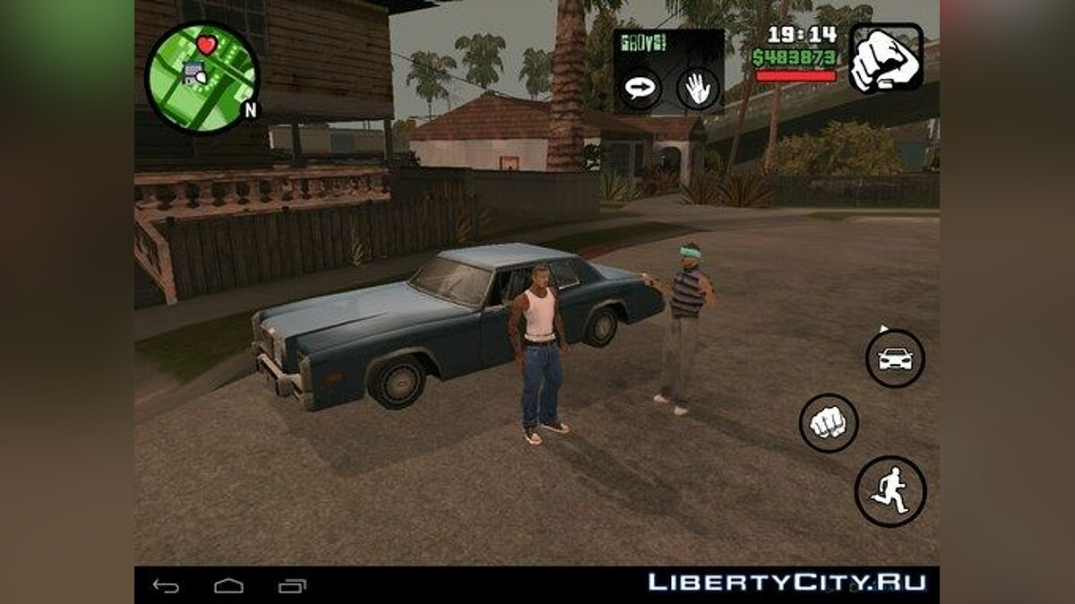 Varrios Los Aztecas (Android) for GTA San Andreas (iOS, Android) - screenshot #2