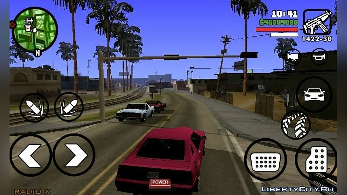 Mod Graphic Mod for Android for GTA San Andreas (iOS, Android)