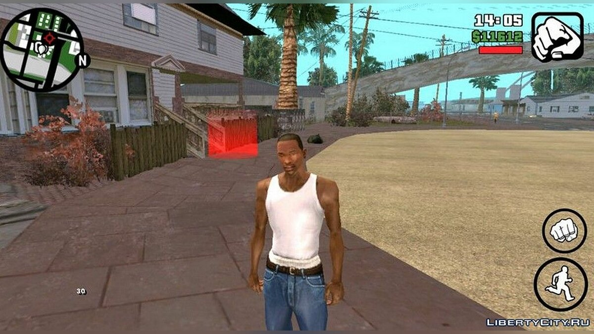 Mod Ultra HD resolution textures for GTA San Andreas (iOS, Android)